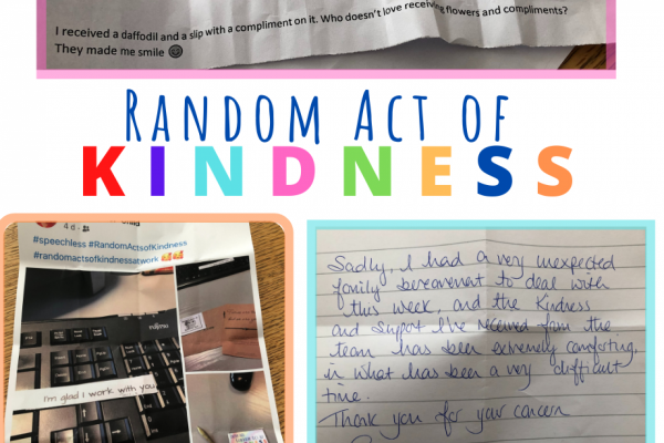 Random Act of Kindness Week 2021